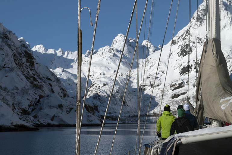 Ski and sail Lofoten