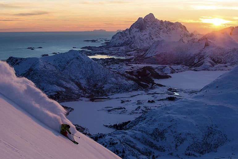 Ski Guiding in Lofoten